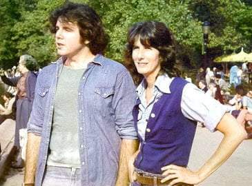 With Brian in Central Park in 1979
