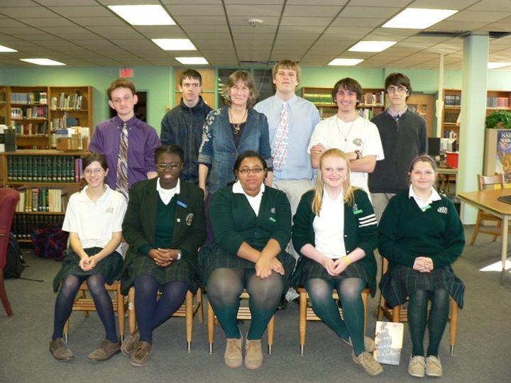 Seton-Keogh and Mount St Joseph Book Club Members - Baltimore MD