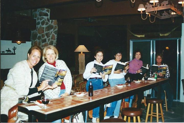 Book Club At White Stallion Ranch Reading Ghost Warrior