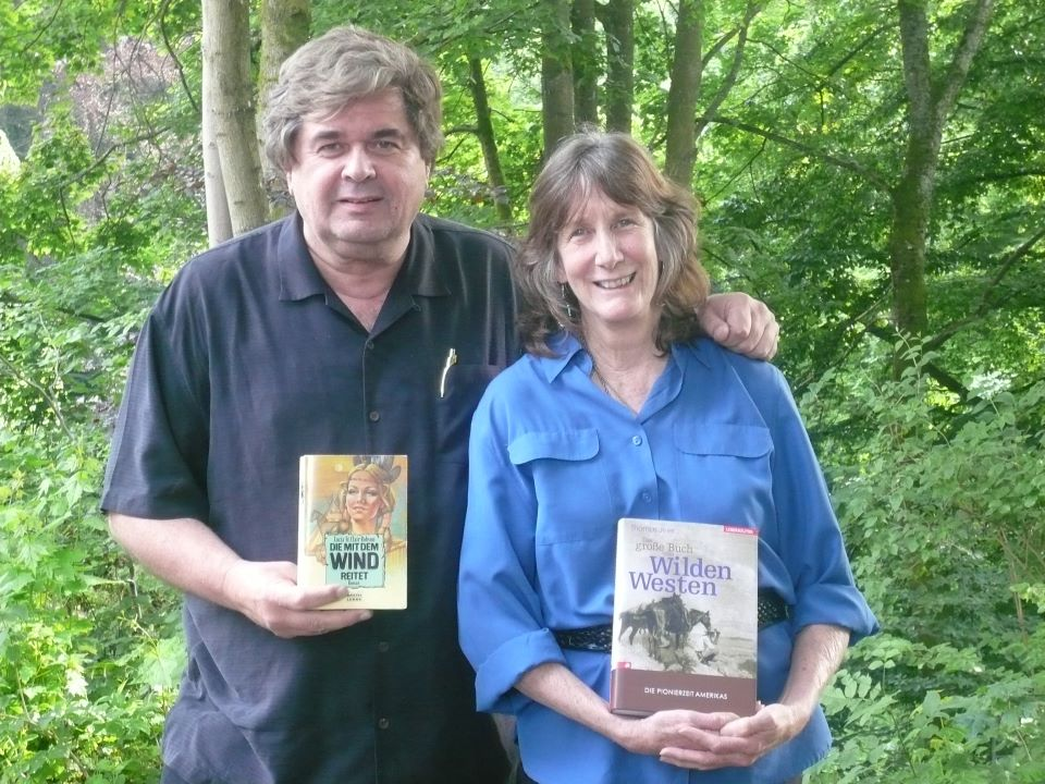 Friend And Prolific German author, Thomas Jeier