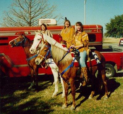 Lucia On Horseback