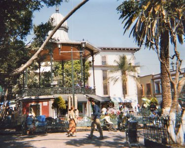 Plaza and Bandstand