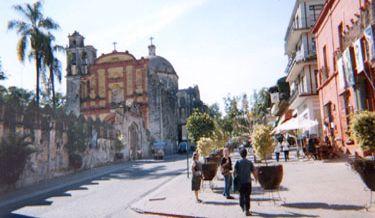 Street In Cuernavaca